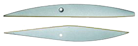 blades for special scissors for Au111 on mica products